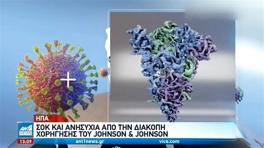 Παγκόσμια ανησυχία για το εμβόλιο της της Johnson & Johnson
