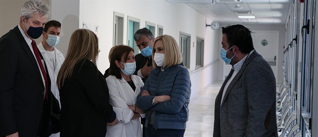 """Γεννηματά από """"Σωτηρία"""": Η Κυβέρνηση απέτυχε στη διαχείριση της πανδημίας"""