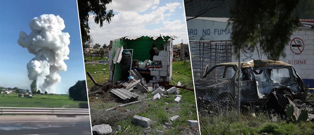 """""""Εκατόμβη"""" νεκρών από την έκρηξη σε αποθήκες πυροτεχνημάτων (εικόνες)"""