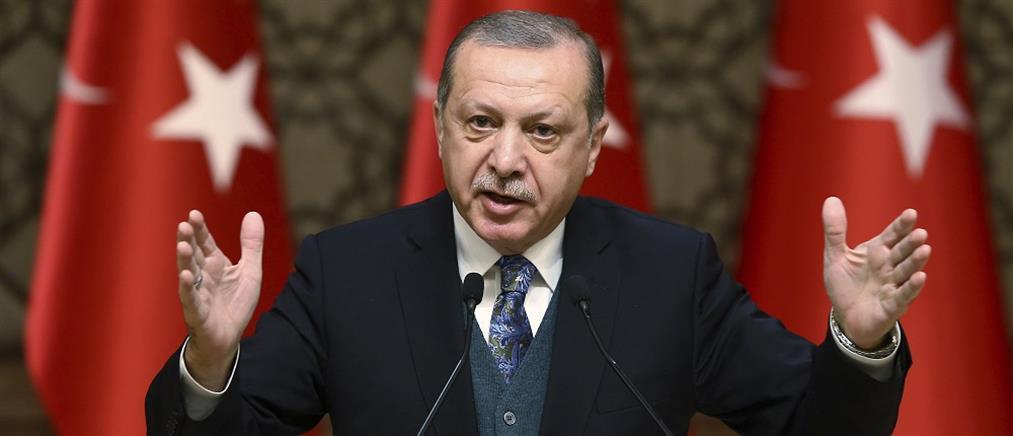 """""""Πυρά"""" Ερντογάν κατά ΗΠΑ για την καταδίκη του Τούρκου τραπεζίτη"""