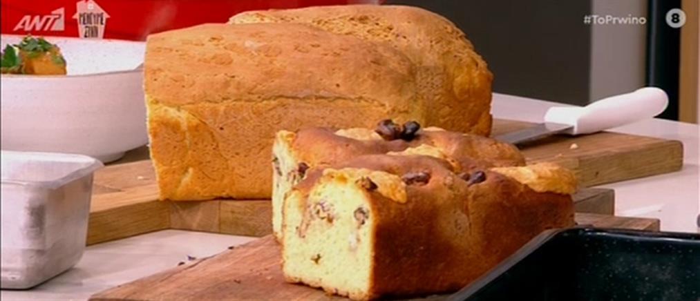 Σπιτικό ψωμί από τον Βασίλη Καλλίδη