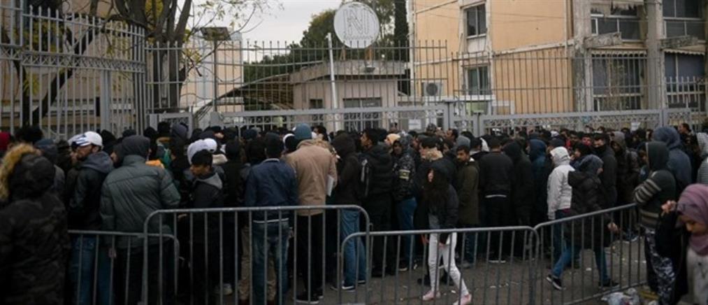 Στάση εργασίας των εργαζομένων στην Υπηρεσία Ασύλου