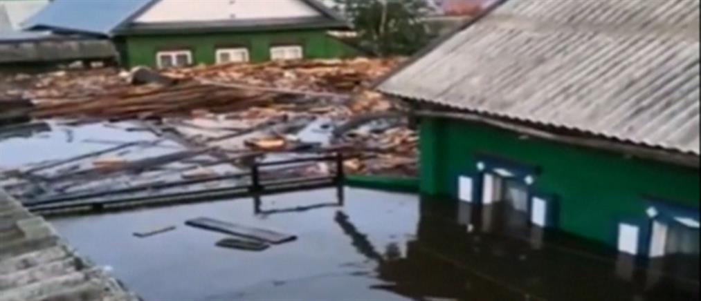 Φονικές πλημμύρες στη Σιβηρία (βίντεο)