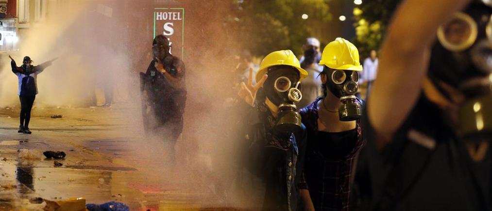 Κόλαση βίας ξανά η πλατεία Ταξίμ