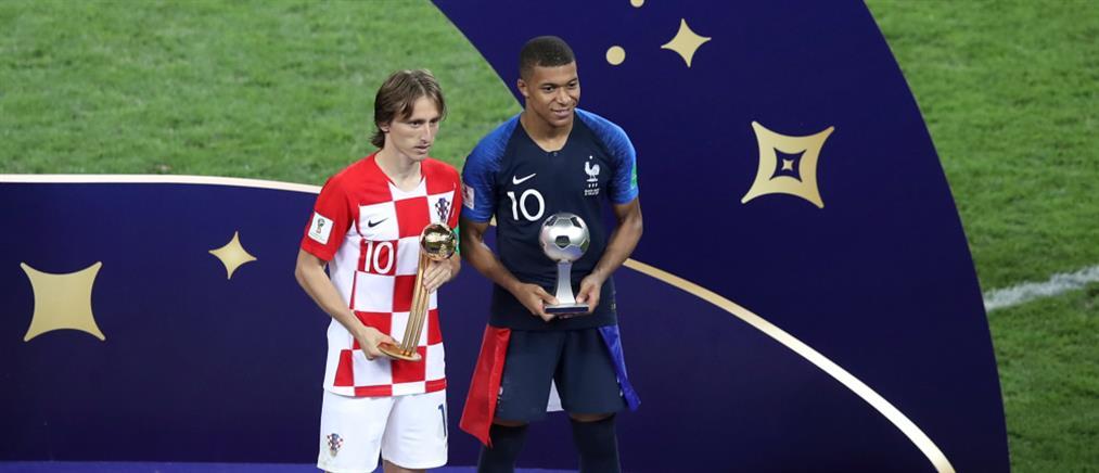 Μουντιάλ 2018: Στον Μόντριτς η χρυσή μπάλα του Παγκοσμίου Κυπέλλου