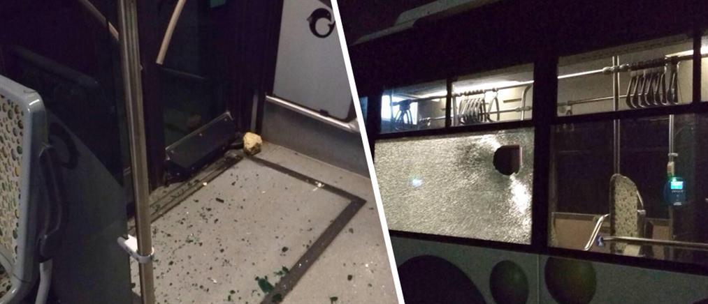 Τρεις συλλήψεις για την επίθεση με πέτρες σε αστικό λεωφορείο