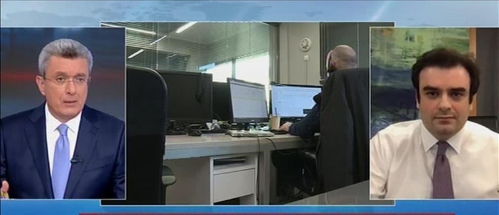 Πιερρακάκης στον ΑΝΤ1: αυξάνονται οι ψηφιακές υπηρεσίες προς τους πολίτες (βίντεο)