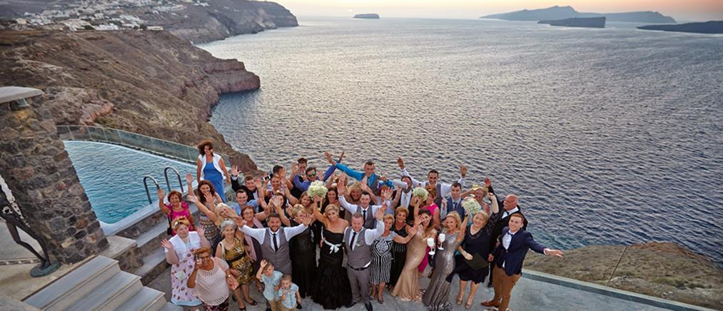 Οι αραβικοί γάμοι της απόλυτης χλιδής στην Σαντορίνη (φωτό)