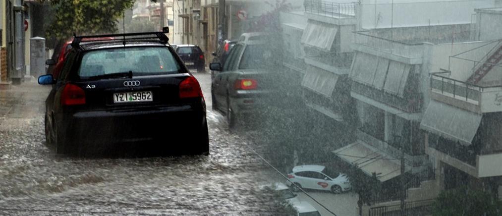 Καιρός: ισχυρές μπόρες και καταιγίδες την Παρασκευή