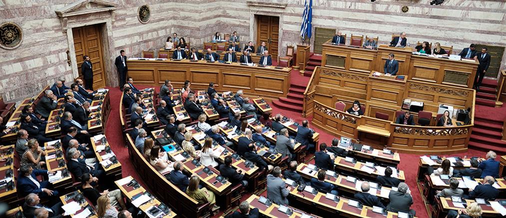 Βουλή: μετωπική αντιπαράθεση για την Οικονομία