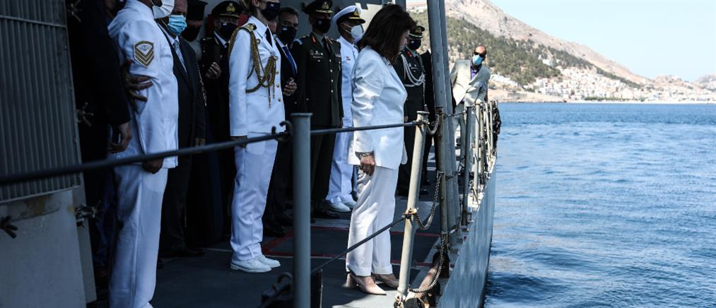 Κάλυμνος – Ναυμαχία του Γέροντα: Στις εκδηλώσεις η Κατερίνα Σακελλαροπούλου