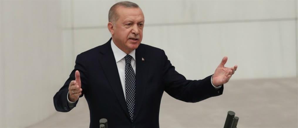 Ερντογάν: μας ενδιαφέρει κάθε σπιθαμή στη Μεσόγειο, το Αιγαίο και τη Μαύρη Θάλασσα