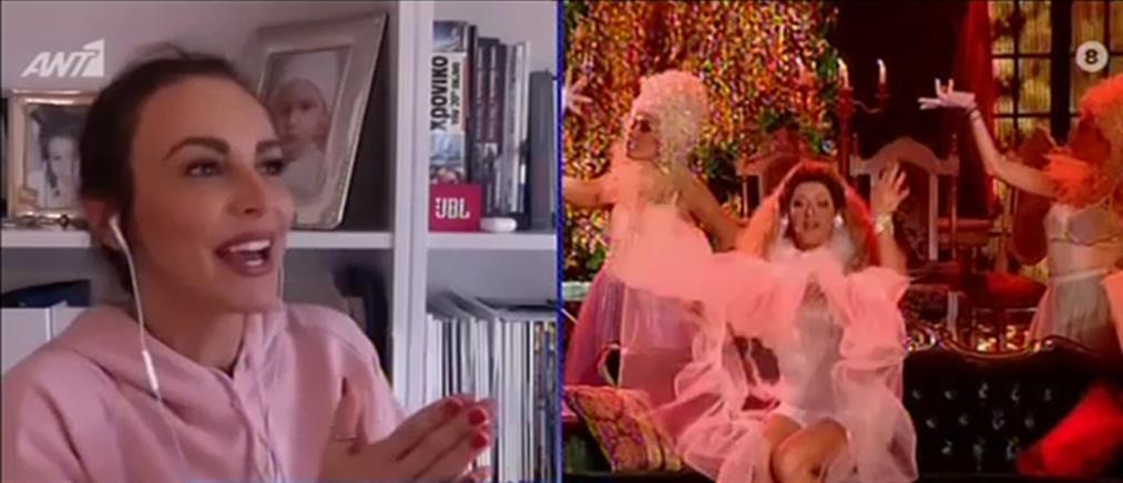 Μπέττυ Μαγγίρα: το YFSF και ο ρόλος της ως Άντζυ Σαμίου (βίντεο)