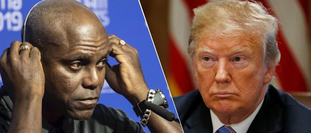 Καρλ Λιούις: ρατσιστής και μισογύνης ο Ντόναλντ Τραμπ