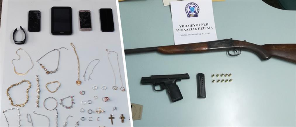 Επικίνδυνη σπείρα ληστών στα χέρια της Αστυνομίας (εικόνες)