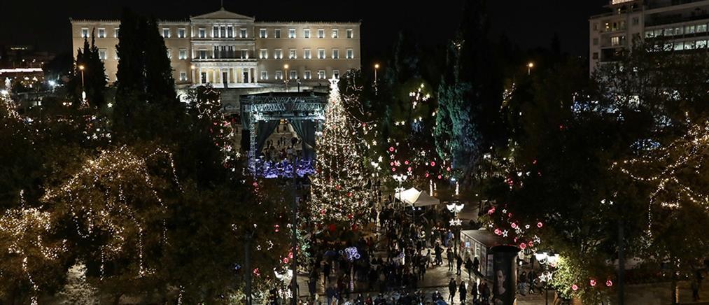 Πρωτοχρονιά: Το ρεβεγιόν στην πλατεία Συντάγματος