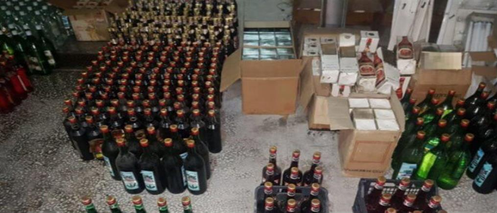 Έκανε λαθρεμπόριο ποτών και… έψαχνε πελάτες στο ίντερνετ (εικόνες)