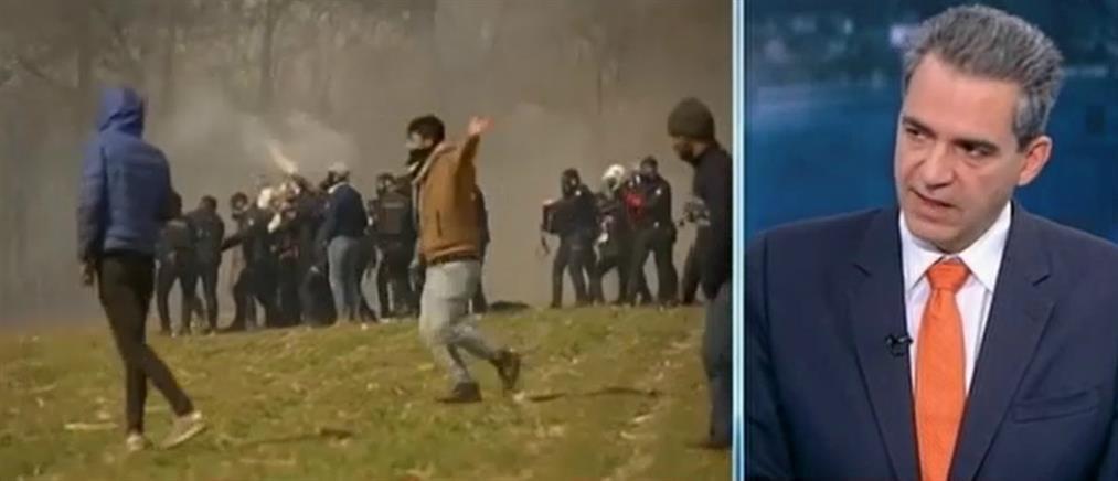 Συρίγος στον ΑΝΤ1: Τι κρύβει η τακτική του Ερντογάν στον Έβρο (βίντεο)
