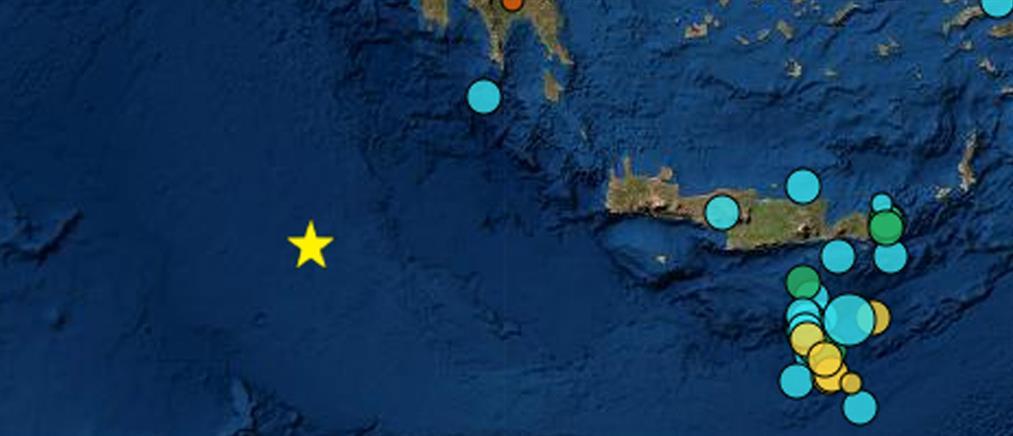 Ισχυρός σεισμός στα ανοιχτά της Πύλου