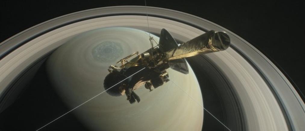"""""""Βουτιά"""" στους δακτυλίους του Κρόνου έκανε το Cassini"""