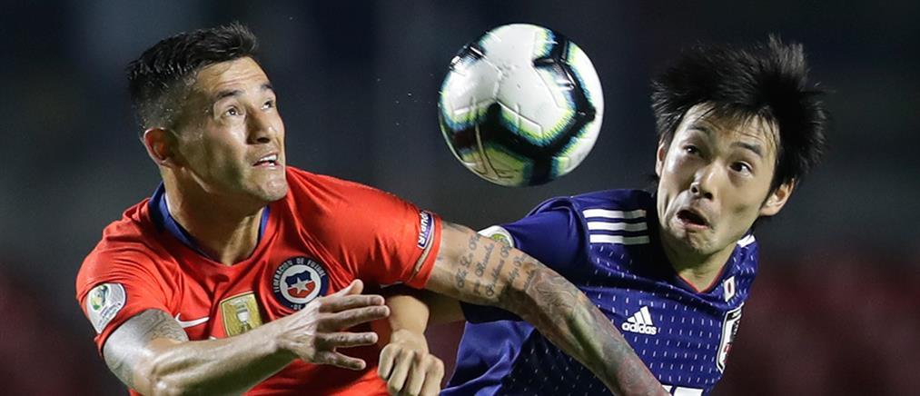 Copa America: η Χιλή συνέτριψε την Ιαπωνία