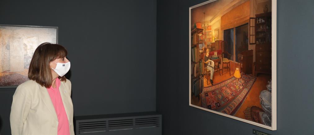"""Σακελλαροπούλου: εγκαίνια της έκθεσης """"Το σπίτι της Μνήμης"""""""