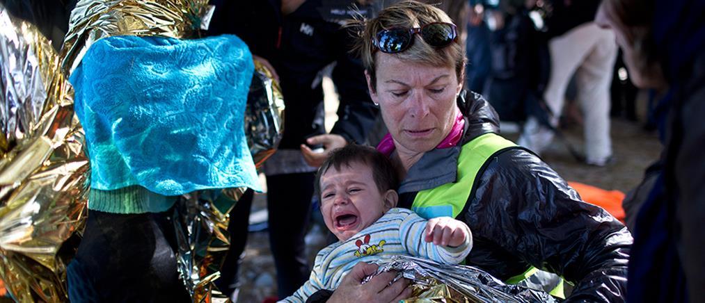 Πρώτη μετεγκατάσταση προσφύγων παρουσία Τσίπρα και Σουλτς