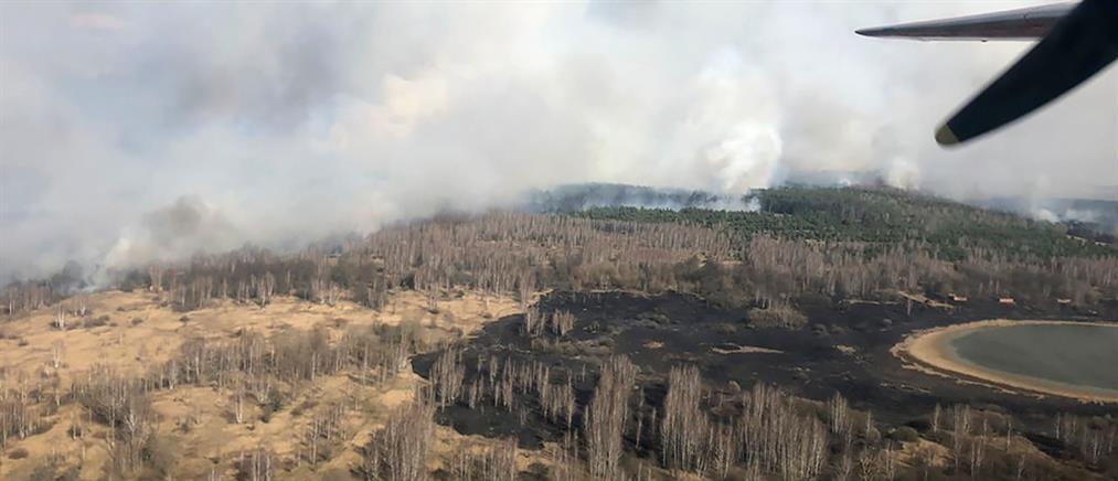 Συναγερμός για φωτιά στο Τσερνόμπιλ (βίντεο)