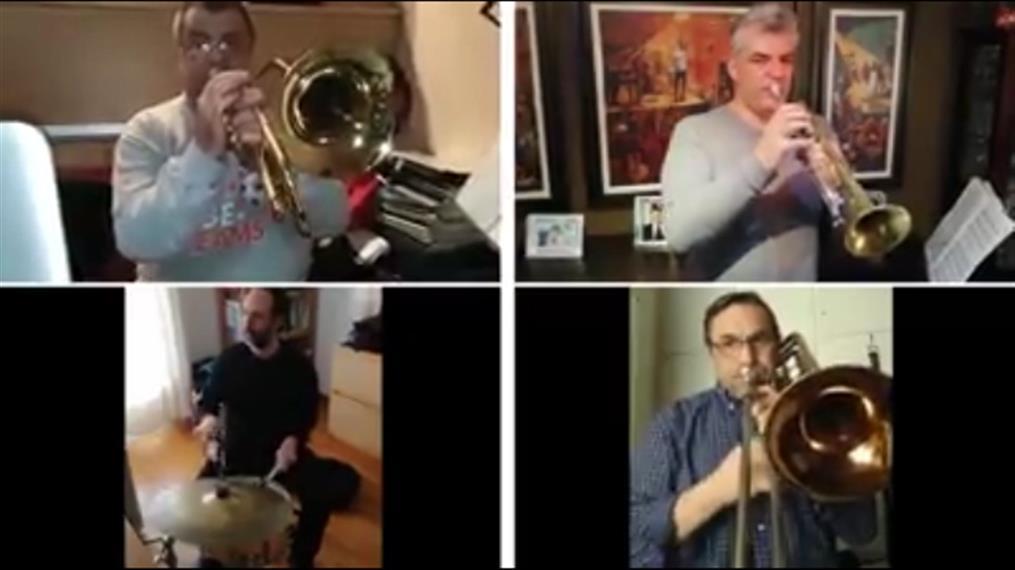 Η Φιλαρμονική Ορχήστρα του δήμου Aθηναίων «Μένει Σπίτι» και μοιράζει αισιοδοξία