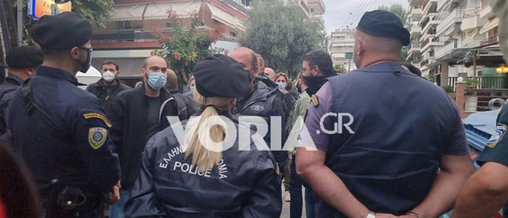 ΕΠΑΛ Σταυρούπολης: Νέα ένταση Αστυνομίας - εκπαιδευτικών (εικόνες)