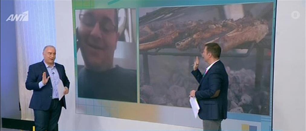 Ιδιοκτήτης ταβέρνας στον ΑΝΤ1 για το επεισόδιο με τα... χαμένα παϊδάκια (βίντεο)