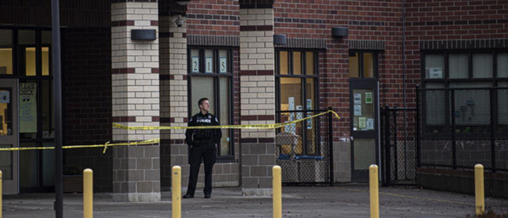 Πυροβολισμοί σε προαύλιο σχολείου