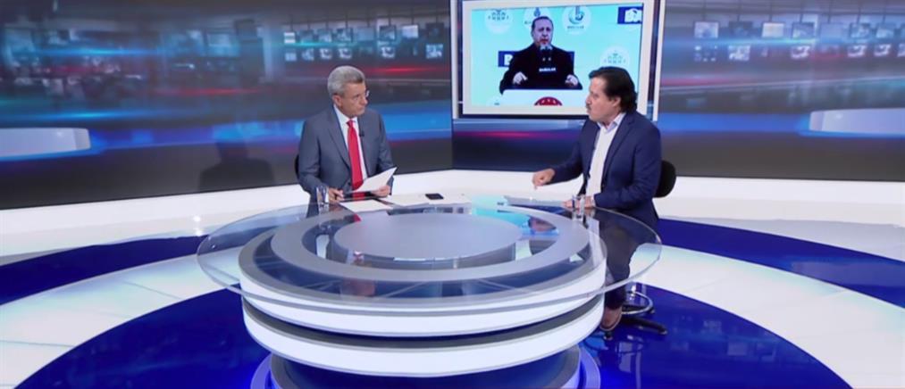 Ο Σάββας Καλεντερίδης στον ΑΝΤ1 για τις τουρκικές προκλήσεις στην ανατολική Μεσόγειο (βίντεο)