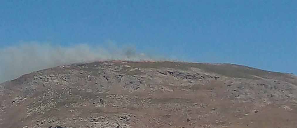 Αναζωπυρώθηκε η φωτιά στα Χανιά - εκκένωση οικισμού (εικόνες)