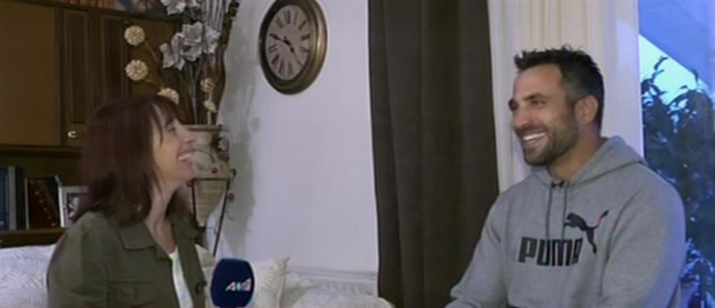 Ο Πάνος Τριανταφύλλου στον ΑΝΤ1 για τον θρίαμβό του στο Άμστερνταμ (βίντεο)