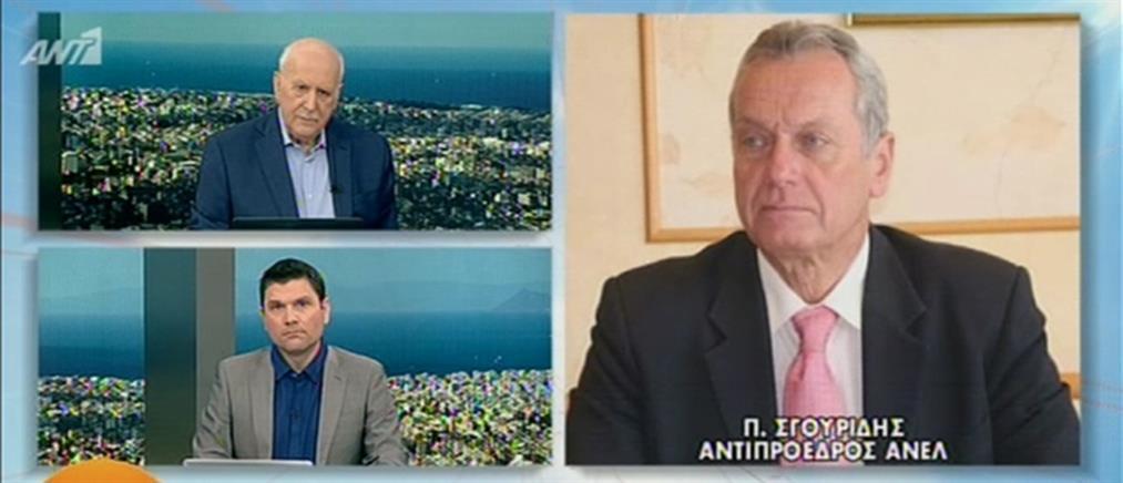 Σγουρίδης στον ΑΝΤ1: Κουντουρά και Κόκκαλης αντάλλαξαν την ψήφο με τη θέση τους (βίντεο)