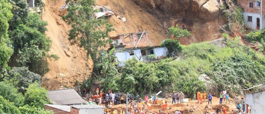 Αυξάνεται ο αριθμός των θυμάτων της κατολίσθησης στη Βραζιλία