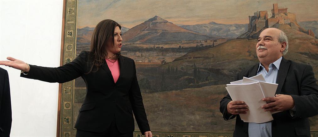 Βούτσης κατά Κωνσταντοπούλου: αδυνατώ να την παρακολουθήσω νοητικά