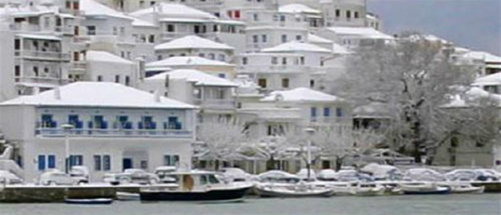 Μπλακ άουτ στην Σκόπελο εξαιτίας της κακοκαιρίας