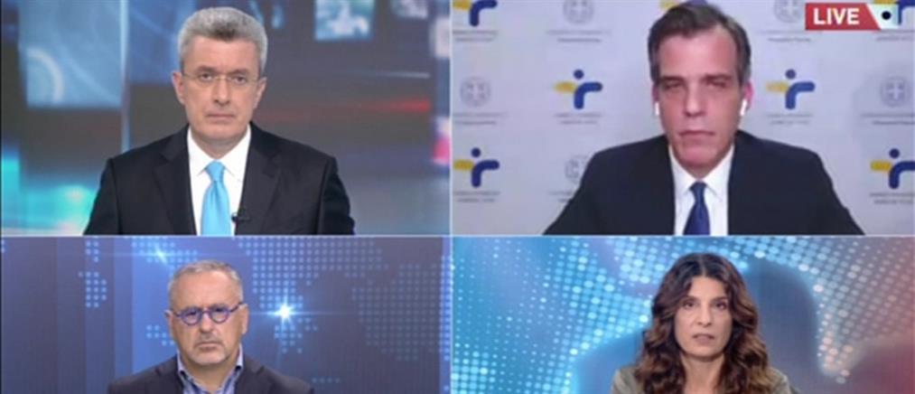 Αρκουμανέας στον ΑΝΤ1: αναλογικά τα τεστ κορονοϊού -  26 κρούσματα μετάλλαξης στην Ελλάδα (βίντεο)