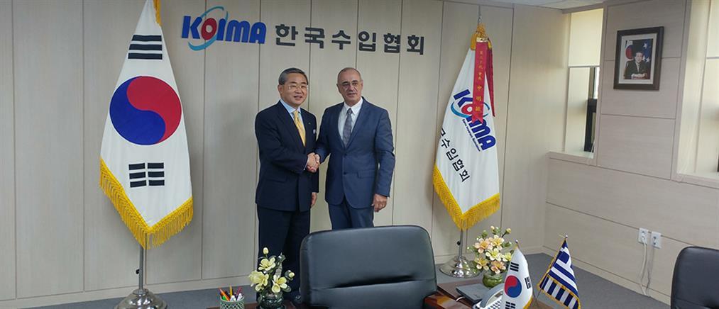 """Να """"βάλει"""" ελληνικές εταιρείες στα ναυπηγεία της Κορέας επιδιώκει ο Μάρδας"""