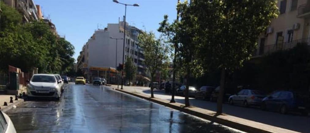 Δήμος Αθηναίων: Κυριακάτικη καθαριότητα στους Αμπελόκηπους (εικόνες)