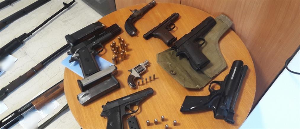Ολόκληρο οπλοστάσιο έκρυβε στο σπίτι του ένας 54χρονος