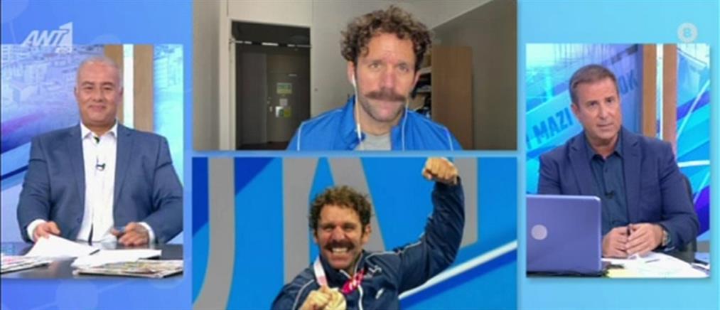 Παραολυμπιακοί – Τσαπατάκης: Και τελευταίος να έβγαινα πάλι θα χαιρόμουν