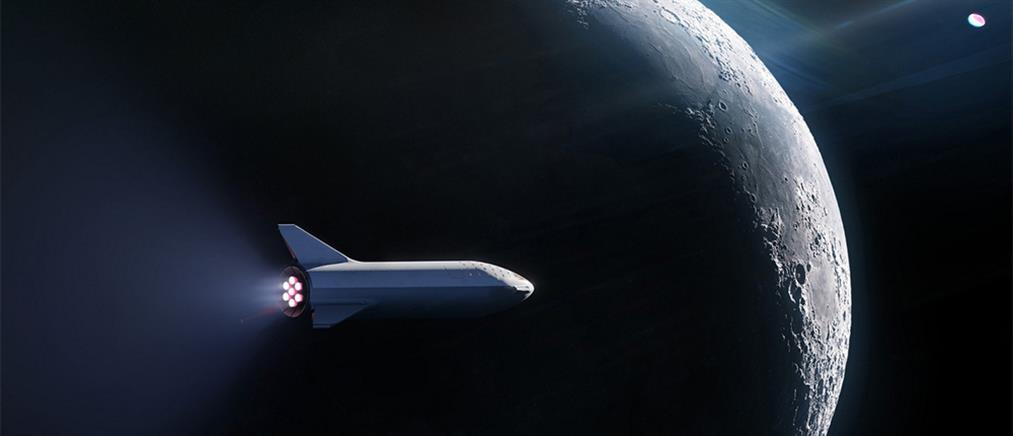 Ο πρώτος ιδιώτης επιβάτης της Space X πάει στην Σελήνη