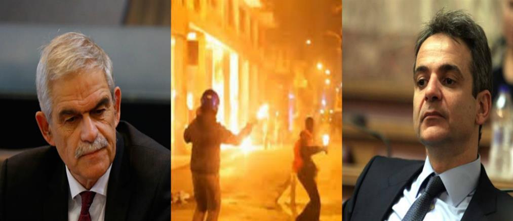 Μητσοτάκης: φαίνεται πότε η Αστυνομία αφήνεται να κάνει την δουλειά της