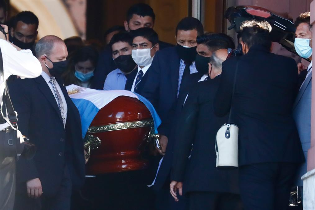 Μαραντόνα - κηδεία - Gallery