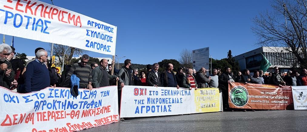 Agrotica: Μαζική κινητοποίηση από τους αγρότες στη Θεσσαλονίκη (εικόνες)