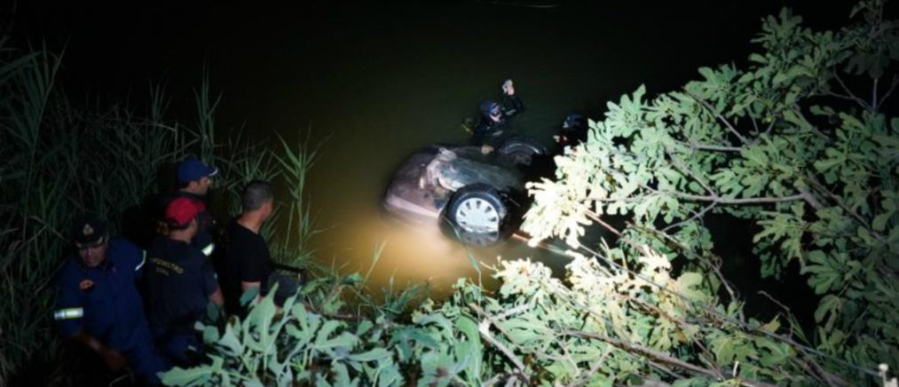Νεκρός βρέθηκε οδηγός αυτοκινήτου που έπεσε στον ποταμό Γιόφυρο (εικόνες)