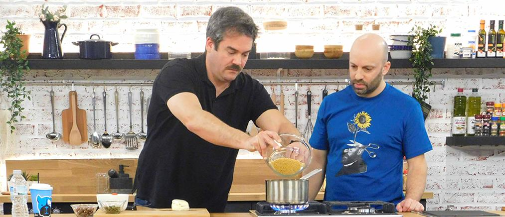 """Food N' Friends"": Ο Πυγμαλίων Δαδακαρίδης και η αποστολή στην κουζίνα (εικόνες)"